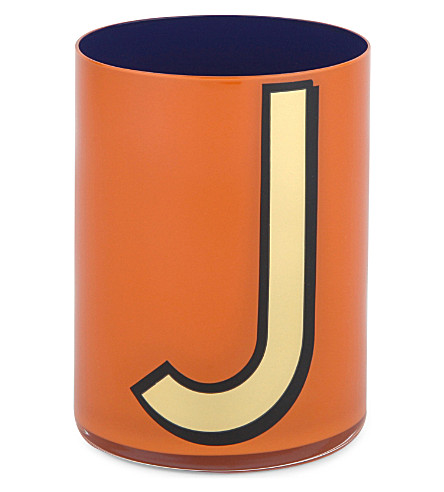 BIRDIE HALL Alphabet J brush pot 10.5cm