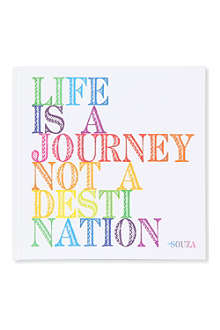 QUOTABLES 'Life is a journey...' journal