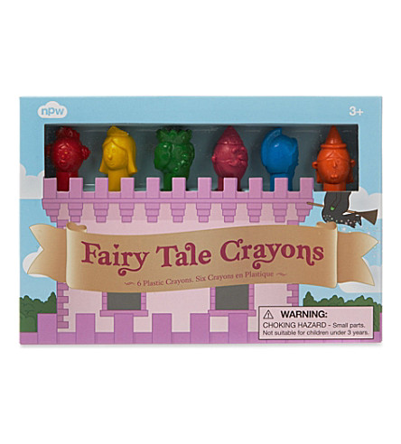 NPW Fairy tale crayons