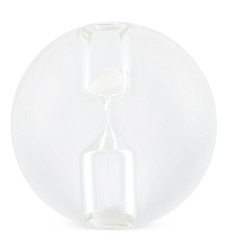 MAISON MARTIN MARGIELA Hourglass sphere (Clear