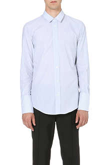 MAISON MARTIN MARGIELA Two-way collar pinstripe shirt