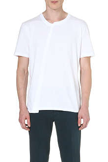 MAISON MARTIN MARGIELA Asymmetric cotton t-shirt