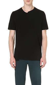 MAISON MARTIN MARGIELA Asymmetric crew-neck t-shirt