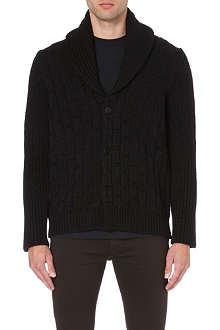 MAISON MARTIN MARGIELA Textured knit cardigan