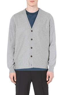 MAISON MARTIN MARGIELA Knitted wool cardigan