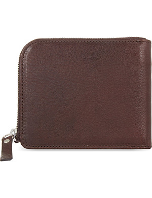 MAISON MARGIELA Leather zip-around wallet