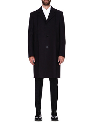 MAISON MARTIN MARGIELA Panelled wool coat
