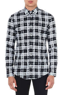 MAISON MARTIN MARGIELA Window pattern shirt