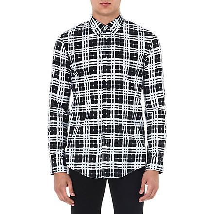MAISON MARTIN MARGIELA Window pattern shirt (Monochrome