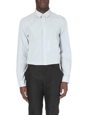 MAISON MARTIN MARGIELA Regular-fit single-cuff cotton shirt