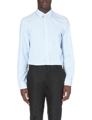 MAISON MARTIN MARGIELA Striped single-cuff cotton shirt