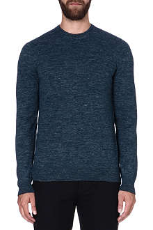 MAISON MARTIN MARGIELA Fitted wool-blend jumper