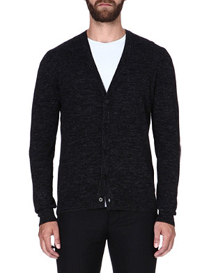 MAISON MARTIN MARGIELA Elbow-patch cardigan