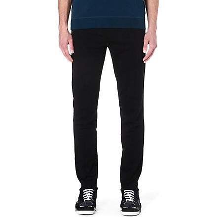 MAISON MARTIN MARGIELA Tailored cotton trousers (Black