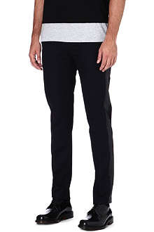 MAISON MARTIN MARGIELA Rubber side cotton trousers