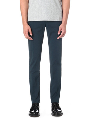 MAISON MARTIN MARGIELA Slim-fit stretch-cotton trousers