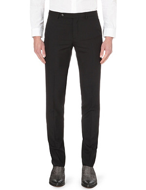 MAISON MARGIELA Slim-fit tapered wool trousers