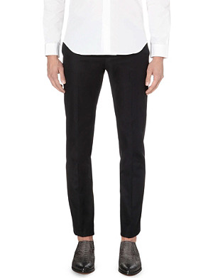 MAISON MARGIELA Slim-fit tapered cotton-twill chinos