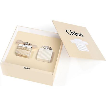 CHLOE Chloé eau de parfum 50ml gift set