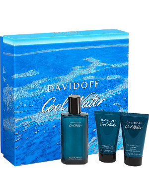DAVIDOFF Cool Water Man aftershave 75ml gift set