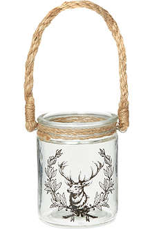 COACH HOUSE Deer tealight holder