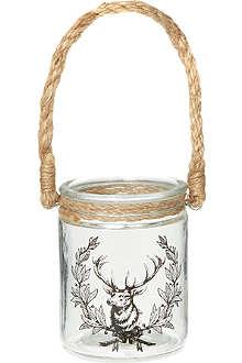 COACH HOUSE Deer tealight holder