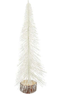 COACH HOUSE White sparkle Christmas tree