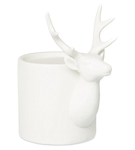 COACH HOUSE Stag tealight holder