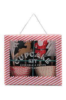 MERI MERI Jingle All the Way cupcake kit