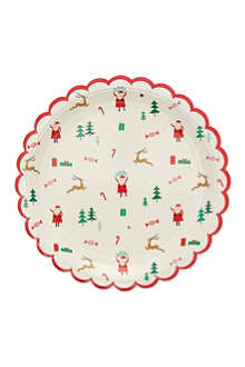 MERI MERI Be jolly printed paper plates eight pack