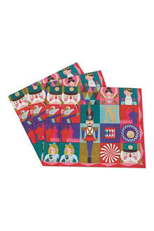 MERI MERI Pack of 16 nutcracker napkins