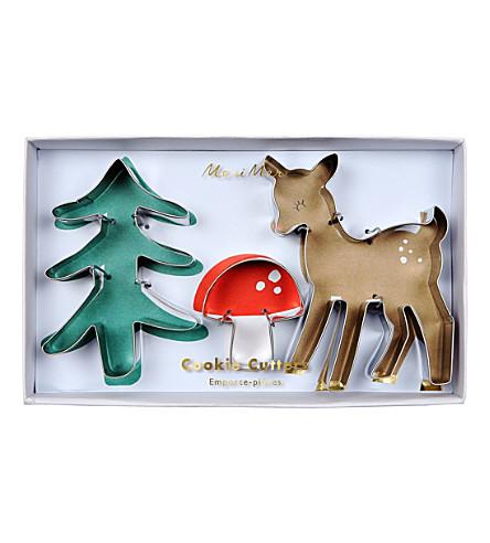 MERI MERI Woodland cookie cutters