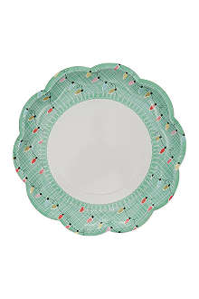 TALKING TABLES Party plates 8-pack