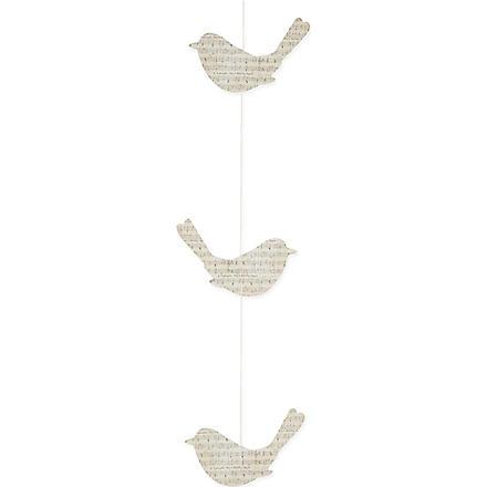 TALKING TABLES Bird garland