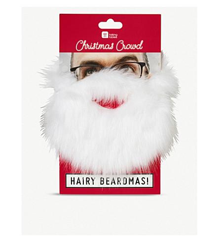 TALKING TABLES Christmas entertainment Santa beard