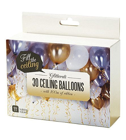 PARTY Glitterati ceiling balloons