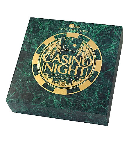 TALKING TABLES Host your own casino night set