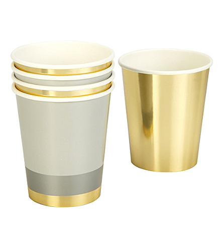 PARTY Metallic paper cups