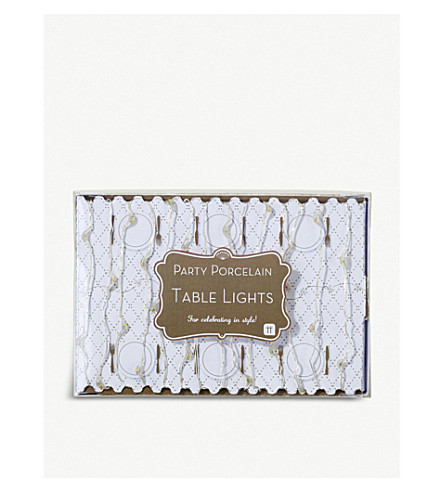 TALKING TABLES Party Porcelain table lights