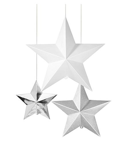 TALKING TABLES Hanging stars decoration