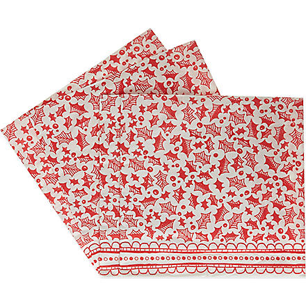 TALKING TABLES Paper napkins pack of 20
