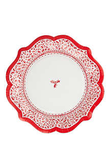 TALKING TABLES Paper plates pack of 8
