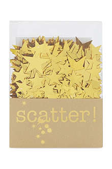 TALKING TABLES Gold star scatter