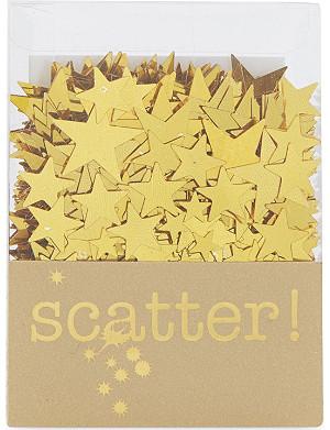 TALKING TABLES Gold star scatter