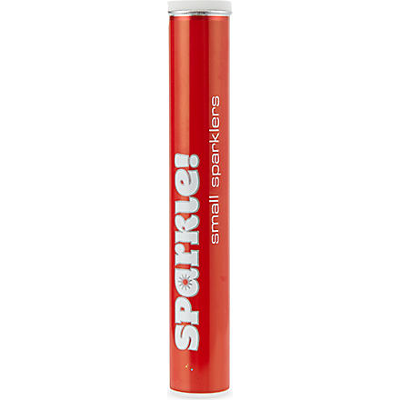 TALKING TABLES Pack of 10 red indoor sparklers