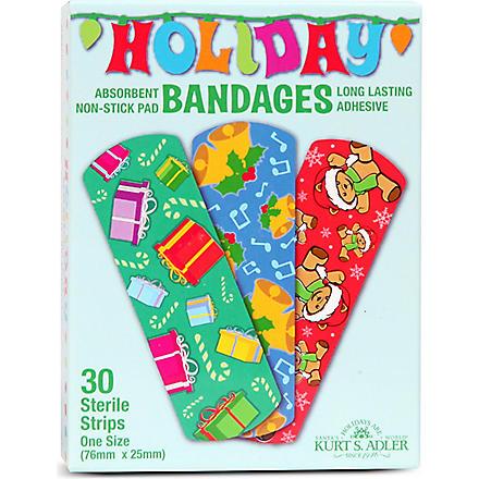 KURT ADLER Christmas plasters box of 30