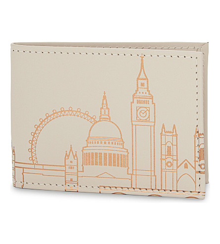 UNDER COVER London leather card holder