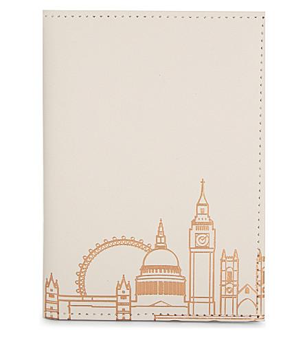 UNDER COVER伦敦地平线回收皮革护照封面