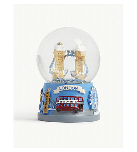 ORNAMENT London Bridge snow globe 6cm