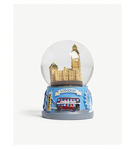 ORNAMENT Houses of Parliament snow globe 6cm